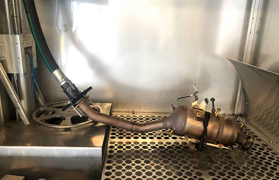 DPF CLEANING