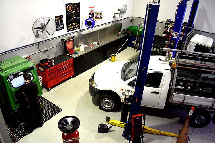 KRM Diesel Workshop Ormeau